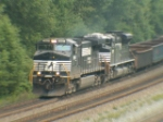 NS 9661 leads NS 2757 WB